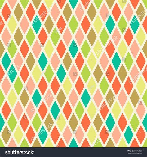 pattern warm color light seamless warm color argyle pattern rhombus