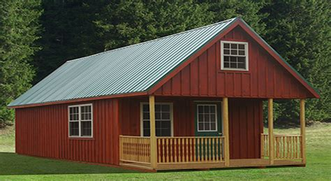Barn Plans With Loft Apartment by American Storage Buildings
