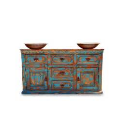 Buy anson distressed rustic vanity for a double or a
