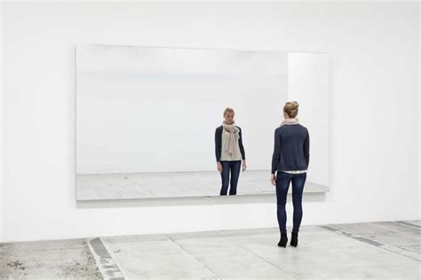 The Mirror by Jeppe Hein Mirror Wall