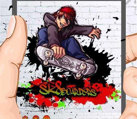 foto grafiti kartun keren skate graffiti keyboard