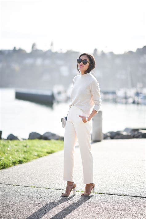 the effortless chic 10 ways to wear tonal color the effortless chic