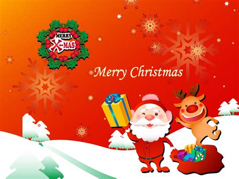 christmas gift from santa wallpaper image pics
