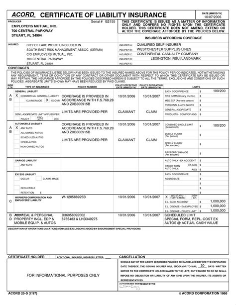 General Liability Acord Billionlater Commercial Business Insurance Form General Liability Acord Business Insurance Template