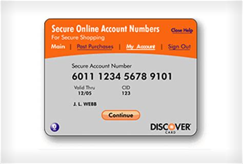 discover brings back secure online account numbers