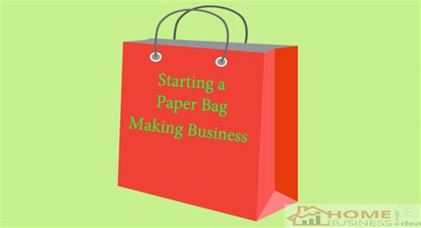 Small Scale Paper Bag Machine - paper jewelry small home business idea