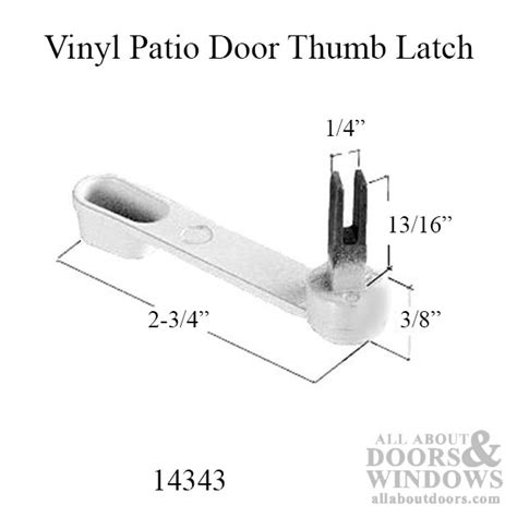 Milgard Patio Door Parts Sliding Glass Door Handle Set Milgard Patio Door Parts