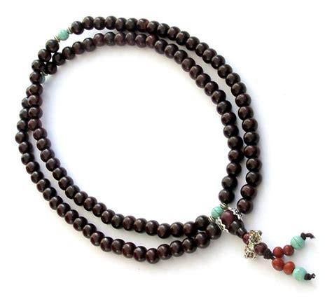 rosewood mala prayer tibetan 108 8mm rosewood prayer mala sumeru bead