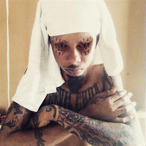tattoo eyeball jamaica checkdhat dancehall artist pierce tattoo eyes plus skin