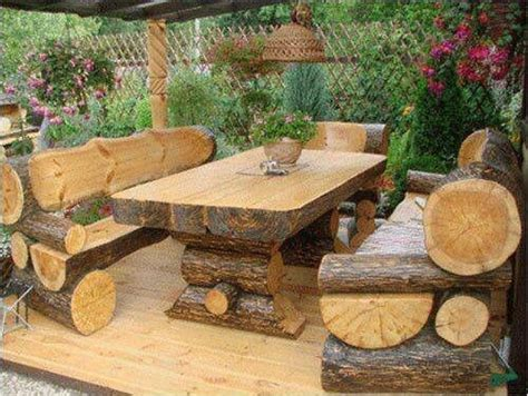 rustic outdoor furniture