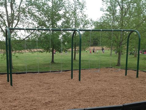 arch swing elite series 3 5 inch arch post swing 8 foot by playground