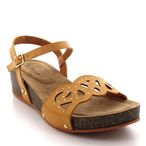 wooden sole sandals womens diamante wooden sole summer peep toe wedge ankle