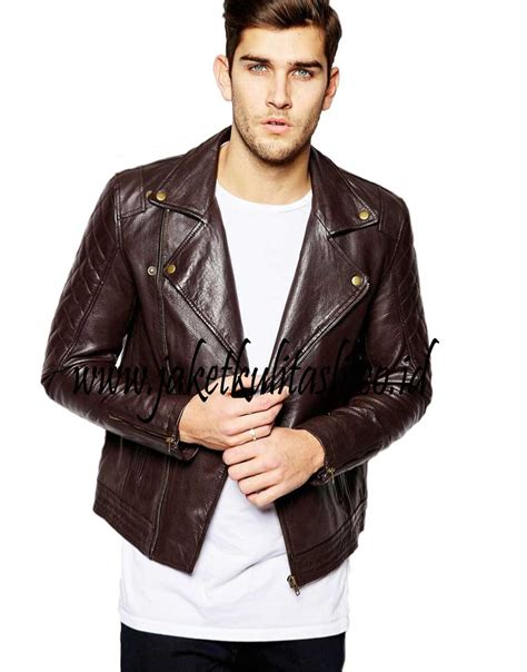 Jaket Pria 226 jaket kulit changcuters asli pria a226 jual jaket kulit
