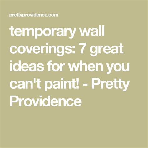 temporary wall coverings the 25 best temporary wall covering ideas on pinterest