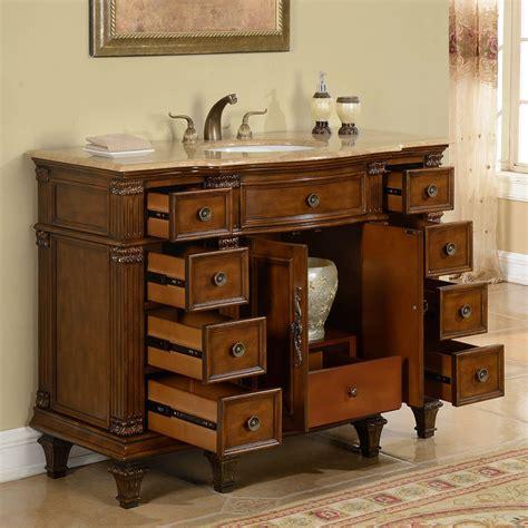 48 bathroom vanity sink accord 48 inch antique single white sink bathroom vanity