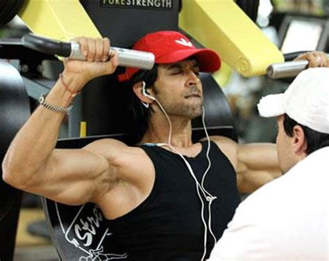hrithik roshan gym images hrithik roshan workout routine diet chart and