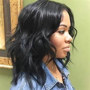 black hair weave styles fifty 50 best medium hairstyles for black african american women