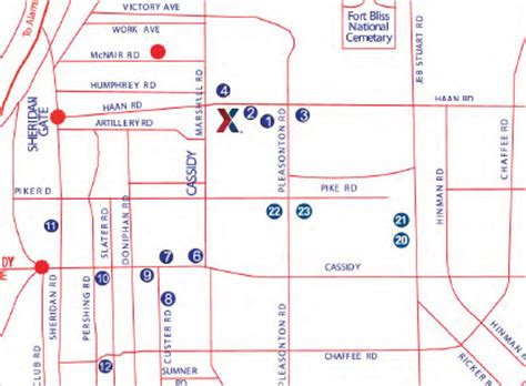 map of fort bliss texas ft bliss map jorgeroblesforcongress
