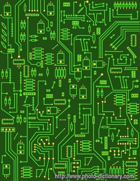 electronic circuit electronic circuit photo picture definition at photo