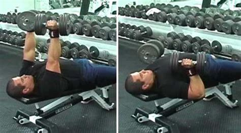 dumbbell bench press at home tips for a well balanced physique