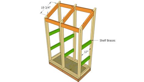 lean  garden tool shed plans picnic table drawings plans