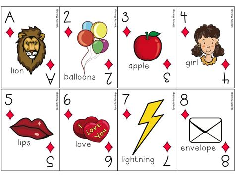 go fish template cards articulation speechymusings