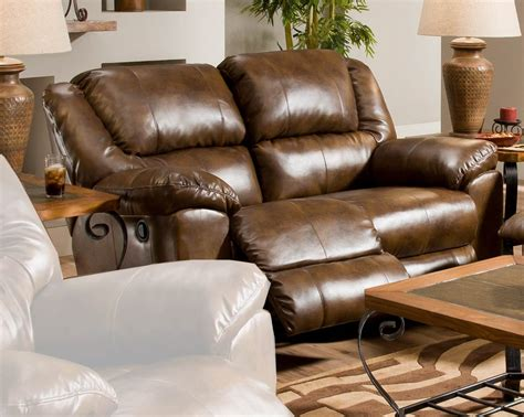 Leather Rocker Recliner Loveseat by Catnapper Transformer Bonded Leather Rocking Reclining