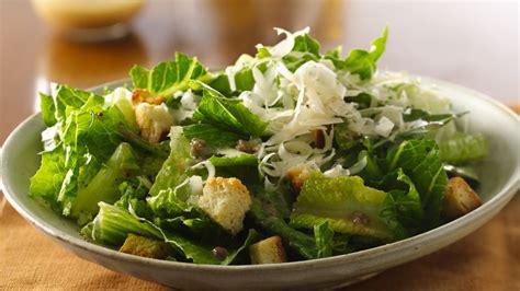 Easy Salad Recipe by Caesar Salad Recipe Bettycrocker Com