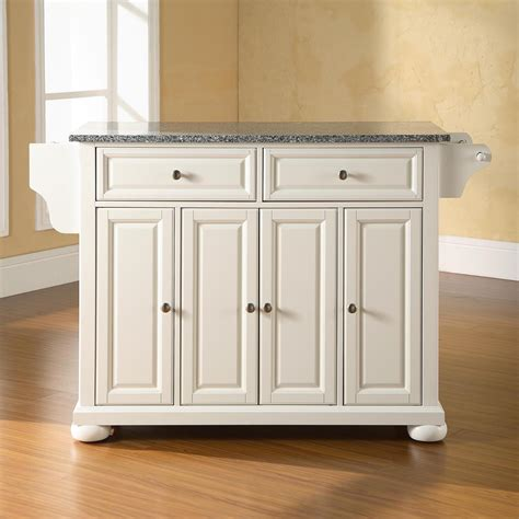 white kitchen island granite top alexandria solid granite top kitchen island white dcg