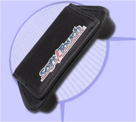 seat belt comfort device softtouch advanced seatbelt protection for defibrillator