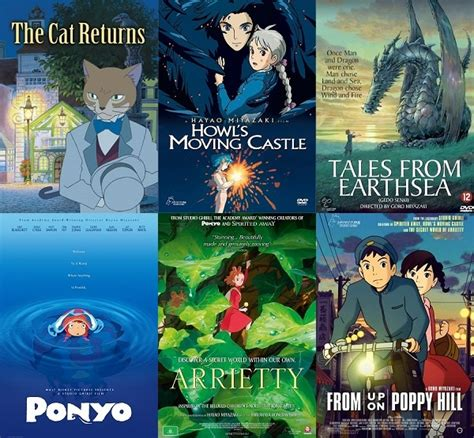 liste film animation ghibli exploring the studio ghibli vault 2002 to 2011 forever