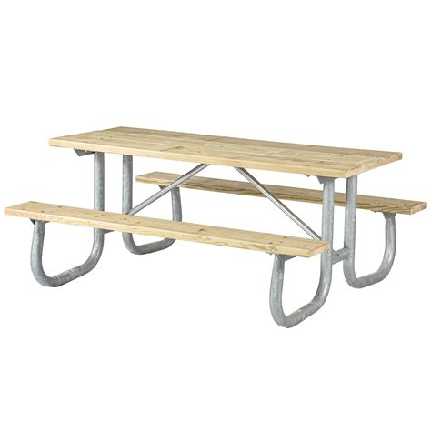 heavy duty picnic welded frame extra heavy duty picnic table terrabound
