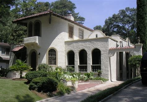 spanish revival colors atlanta mediterranean historic house colors