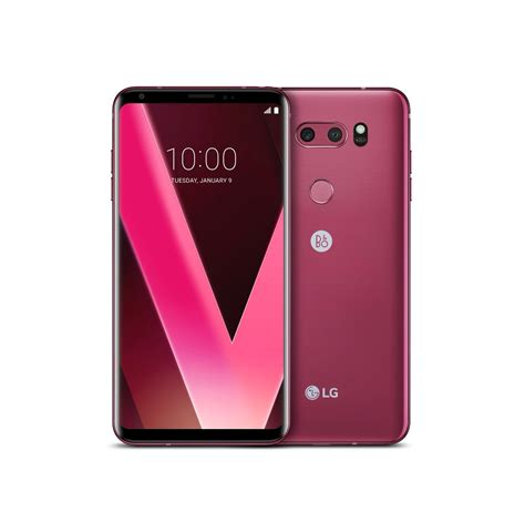 Lg V30 Plus Raspberry lg v30 in new quot raspberry quot color to be unveiled at ces