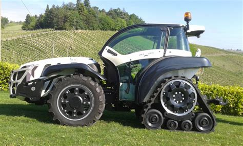 cadenas para ruedas de tractor skyjump tractor especial compacto con orugas traseras y