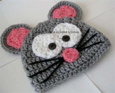 Gorros Tejidos En Crochet Para Bebes De Animalitos 2016 | 10 gorros tejidos de animalitos gorros tejidos