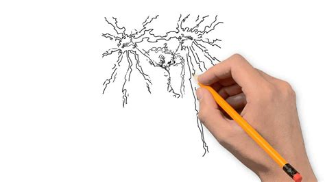 doodle how to make electricity lightning nature pencil to draw step by step