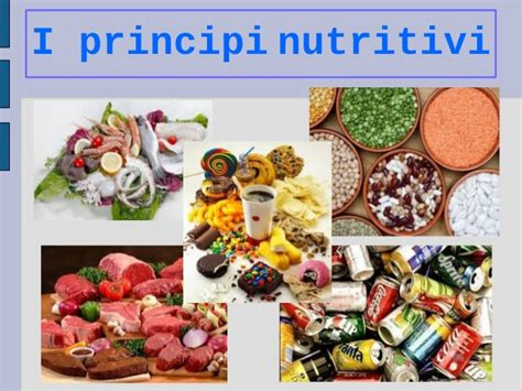 principi nutritivi degli alimenti i principi nutritivi