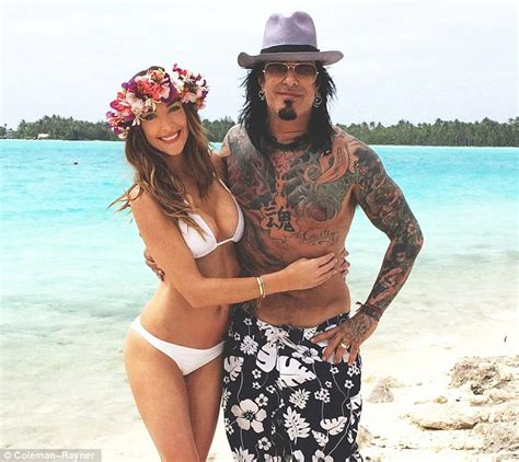 nikki bella first husband courtney bingham shows off flawless bikini body with nikki