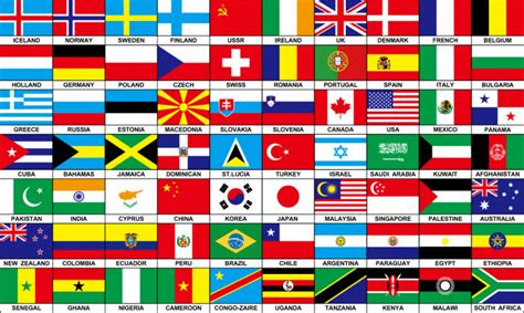 colors of the world 70 countries large flag 5 x 3