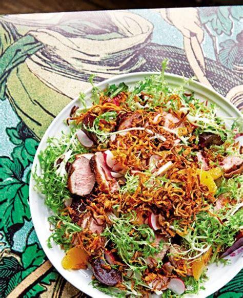 corriere cucina ricette insalata con anatra croccante e barbabietole cucina