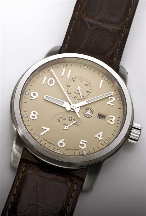 mercedes watches