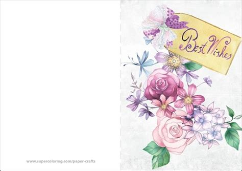 Best Wishes Printable Cards Free