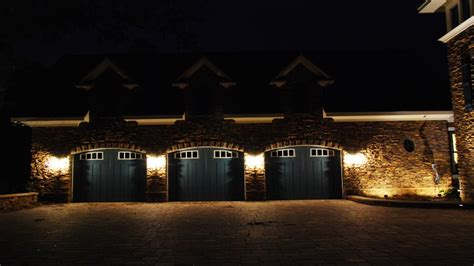 led outdoor garage lights led landscape lighting garage door lighting fixtures