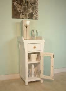 Small Bathroom Furniture Cabinets Hton New Style White Painted Furniture Small Glass Bathroom Cabinet