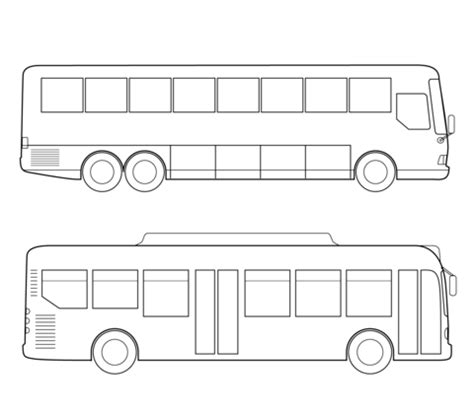 City Bus Coloring Page Free Printable Coloring Pages