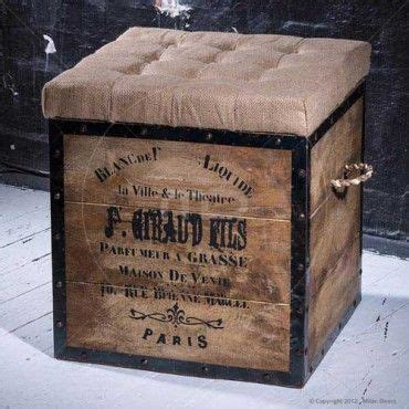 Where To Buy Ottomans by Industrial Ottoman Box Chair Buy Square Ottomans