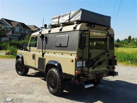 land rover 110 overland 1990 land rover defender 110 expedition overland classic