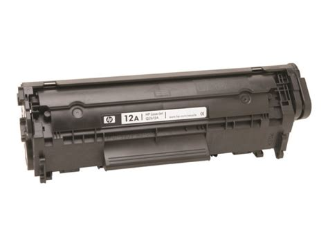 Cartridge Toner Bekas Q2612a 12a Hp Laserjet 1010 1012 1015 1018 1020 hp 12a black toner cartridge q2612a laserjet ebuyer