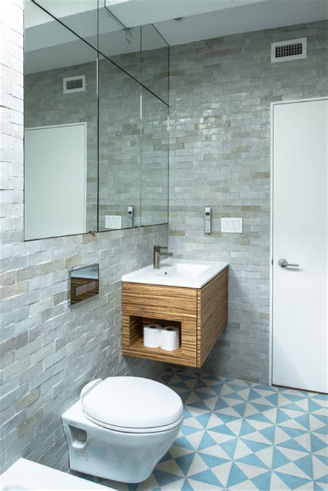 Window Treatments 2017 Trends Jane Kim Design Industrial Bathroom New York By